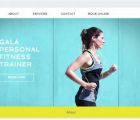 website pelayanan kesehatan fitness center