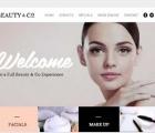 website salon dan kecantikan