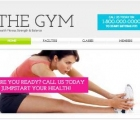 website untuk pusat kebugaran