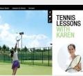 website belajar main tenis