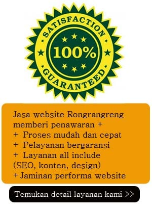 jasa website bergaransi rongrangreng.net
