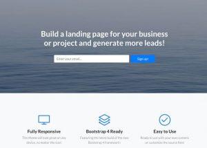 membuat landingpage untuk promosi bisnis